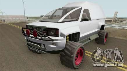 Declasse Brutus Cleaner GTA V pour GTA San Andreas