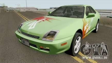 Honda Prelude Mk5 1998 (US-Spec) pour GTA San Andreas
