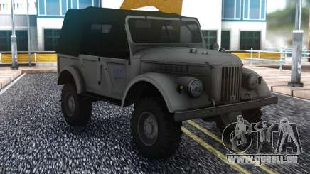 GAZ-69 Farmer Simulator 2015 pour GTA San Andreas