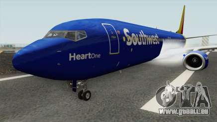Boeing 737-800 Southwest Airlines (Heart Livery) für GTA San Andreas