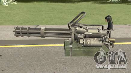 M-134 Minigun Default Design pour GTA San Andreas