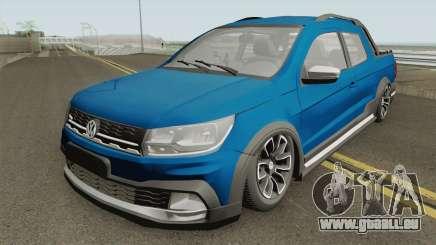 Volkswagen Saveiro Cross Pickup Low pour GTA San Andreas
