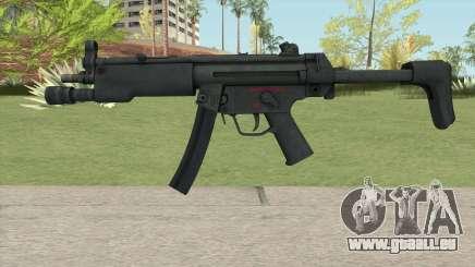 MP5 HQ pour GTA San Andreas