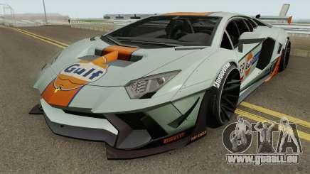 Lamborghini Aventador LP700-4 Liberty Walk 2011 pour GTA San Andreas