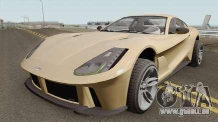 Grotti Itali GTO (812 Superfast Style) GTA V für GTA San Andreas