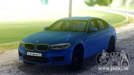 BMW M5 F90 Blue pour GTA San Andreas