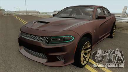 Dodge Charger Hellcat 2015 pour GTA San Andreas