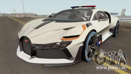 Bugatti Divo 2019 Police Prototype pour GTA San Andreas
