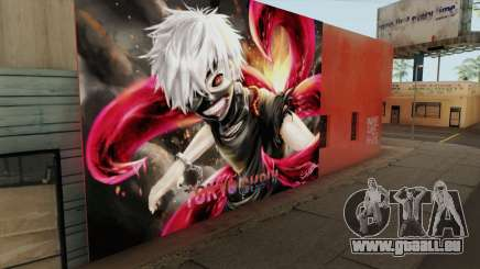 Tokyo Ghoul Kaneki Ken Wall für GTA San Andreas