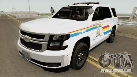 Chevrolet Tahoe SASP RCMP für GTA San Andreas