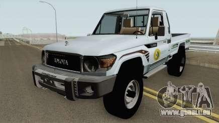 Toyota Land Cruiser Bajos Recursos pour GTA San Andreas