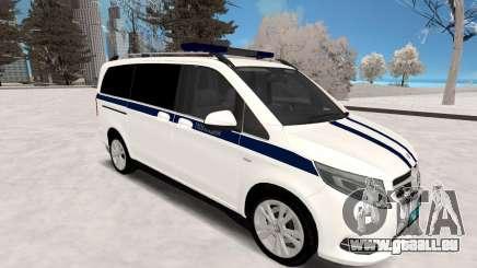 Mercedes Benz Vito Police pour GTA San Andreas