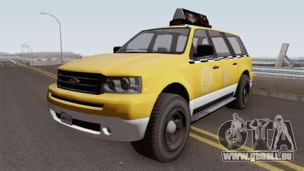 Vapid Prospector Taxi V2 GTA V IVF pour GTA San Andreas