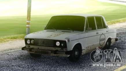 VAZ 2106 Rouillé pour GTA San Andreas