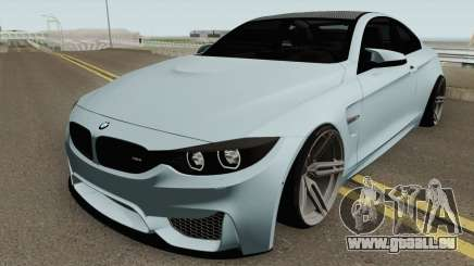 BMW M4 2014 SlowDesign (Black Wheels) für GTA San Andreas