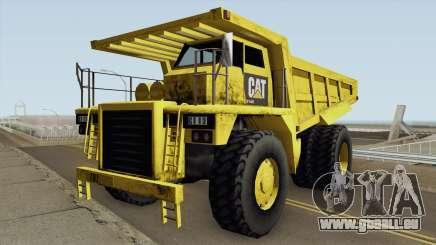 Caterpillar Dumper Basculante pour GTA San Andreas
