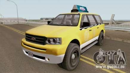 Vapid Prospector Taxi V2 GTA V pour GTA San Andreas