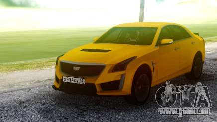 Cadillac CTS-V Orange pour GTA San Andreas