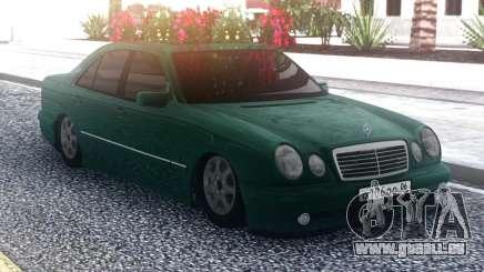 Mercedes-Benz E55 Green Sedan pour GTA San Andreas