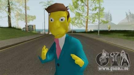 Seymour Skinner - Simpsons Hit and Run pour GTA San Andreas