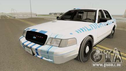 Ford Crown Victoria 2011 Slicktop SASP RCPM für GTA San Andreas