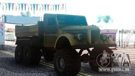 GAZ 69 6x6 pour GTA San Andreas