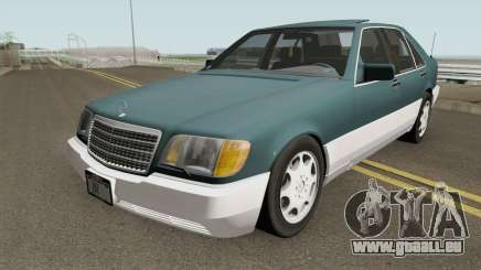 Mercedes-Benz S-Class (W140) 300SD 1992 US-Spec pour GTA San Andreas