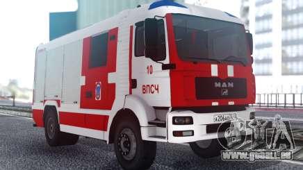 MAN TGA Feuerwehr für GTA San Andreas