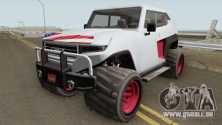 Canis Freecrawler GTA V IVF pour GTA San Andreas