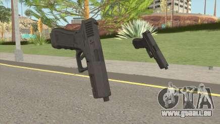 Glock P80 HQ pour GTA San Andreas