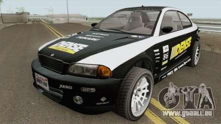 Ubermacht Sentinel Retro GTA V für GTA San Andreas