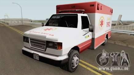 Ambulance TCGTABR für GTA San Andreas