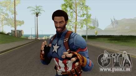 CJ Capitan America pour GTA San Andreas