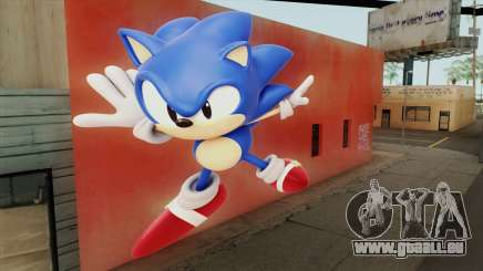 Sonic Wall Mod pour GTA San Andreas