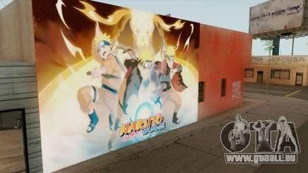 Naruto Shippuden Wall für GTA San Andreas