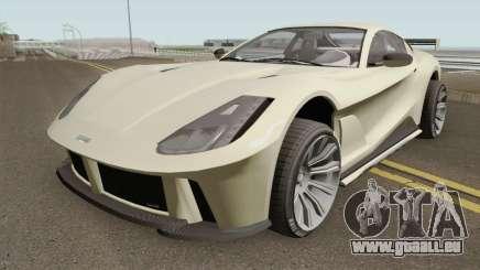 Grotti Itali GTO GTA V IVF für GTA San Andreas