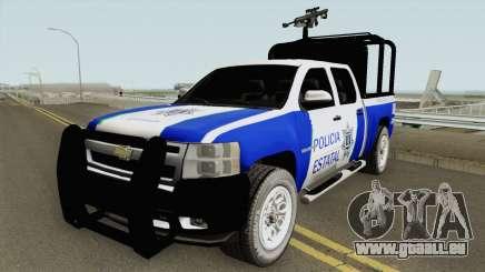Chevrolet Silverado Policia Estatal Tamaulipas pour GTA San Andreas