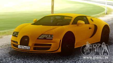 Bugatti Veyron Yellow für GTA San Andreas