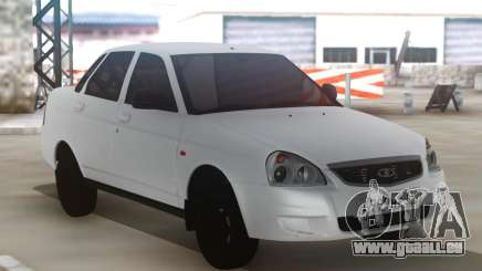 Lada Priora White pour GTA San Andreas