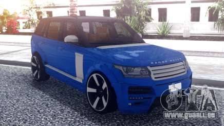 Range Rover Vogue L405 Startech Blue pour GTA San Andreas