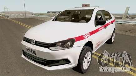 Volkswagen Voyage (Taxi) Cidade de Porto Alegre pour GTA San Andreas
