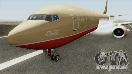 Boeing 737-800 Southwest Airlines (Desert Gold) für GTA San Andreas