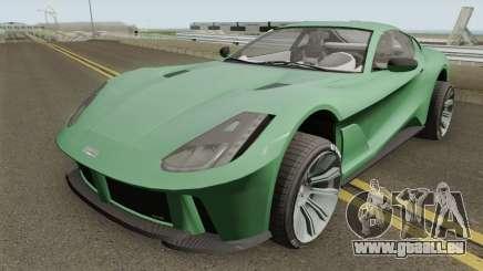 Grotti Itali GTO Stock GTA V für GTA San Andreas
