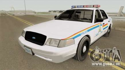 Ford Crown Victoria 2007 SASP RCPM für GTA San Andreas