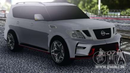 Nissan Patrol Nismo White für GTA San Andreas