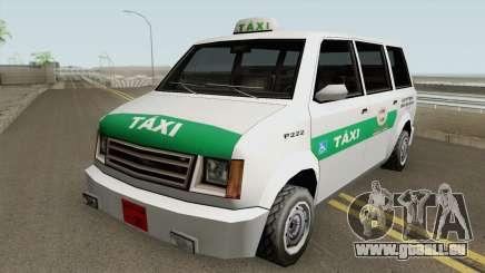 Cabbie Taxi Santos-SP (BH) pour GTA San Andreas