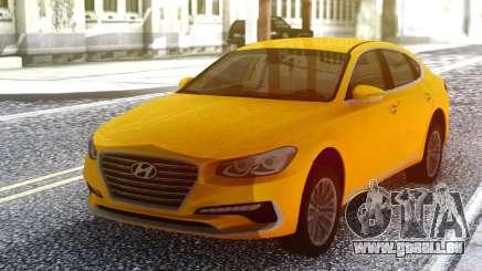 Hyundai Azera 2018 Yellow pour GTA San Andreas