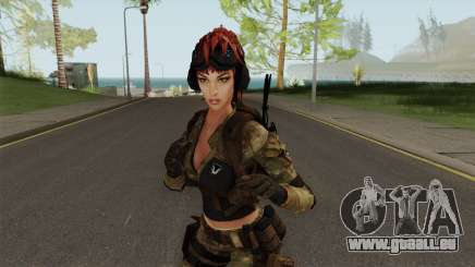 Engineer From Squad Aurora (Warface) pour GTA San Andreas