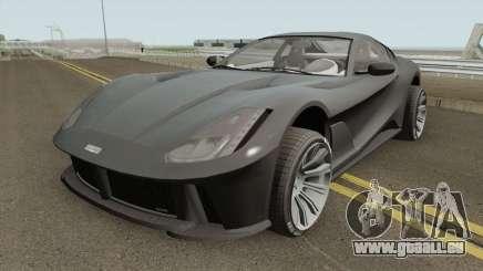Grotti Itali GTO Stock GTA V IVF für GTA San Andreas