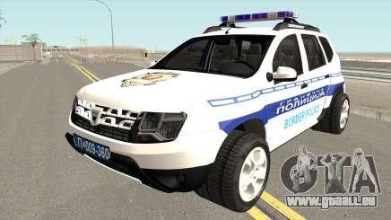 Dacia Duster Serbian Border Police pour GTA San Andreas